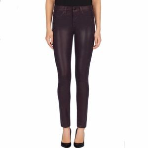 J Brand High Rise Maria Jeans in Ruby Crystal